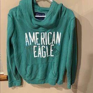 Green comfy hoodie